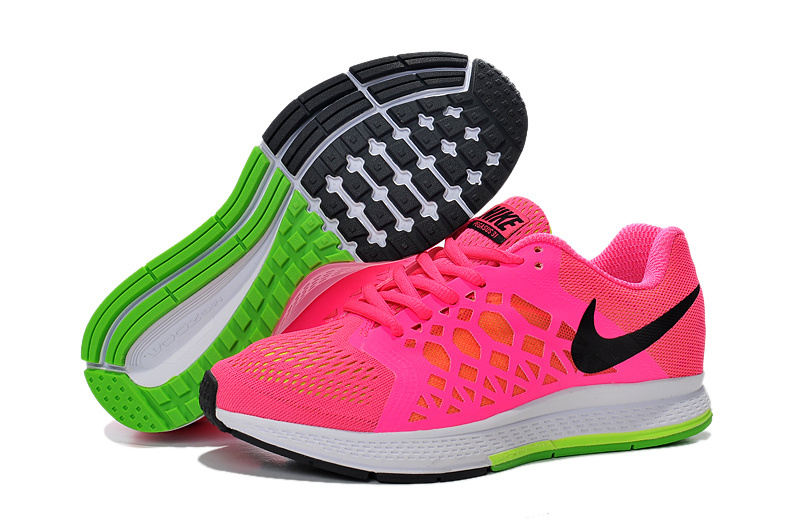 Women's Nike Air Zoom Pegasus 31 Running Shoes Melon Red/White 654486-600