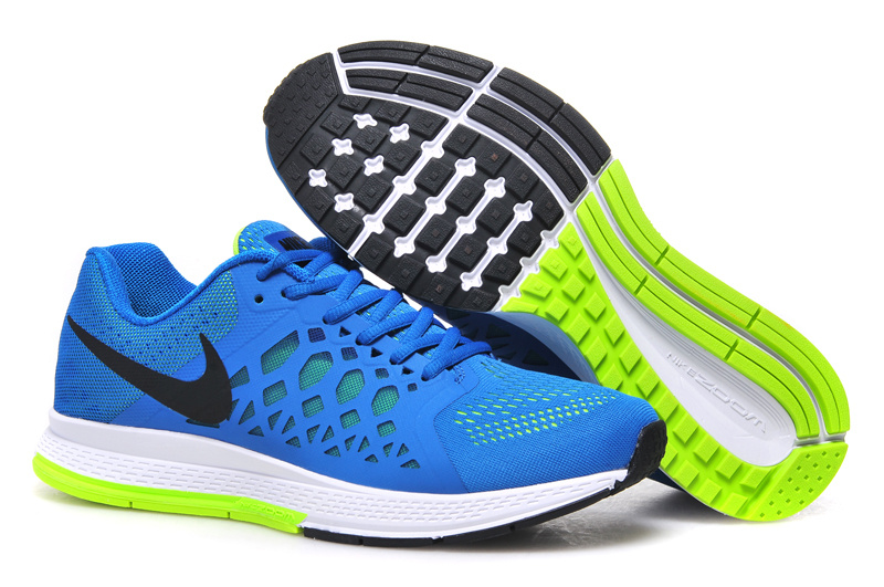Men's Nike Air Zoom Pegasus 31 Running Shoes Royal Blue/White/Green 652925-400
