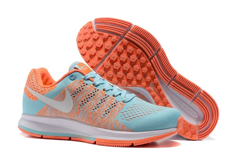 Women's Nike Air Zoom Pegasus 33 Running Shoes Moon/Orange/White