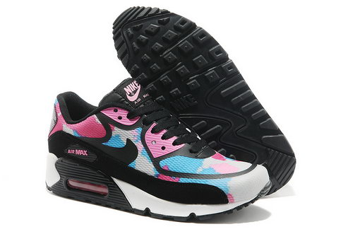 new product 7c792 9ca52 Wmns Nike Air Max 90 Prem Tape Sn Women Pink And Black Running Shoes Japan