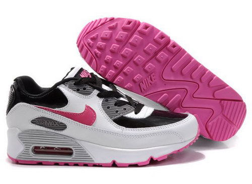 Womens Air Max 90 Red White Black Inexpensive