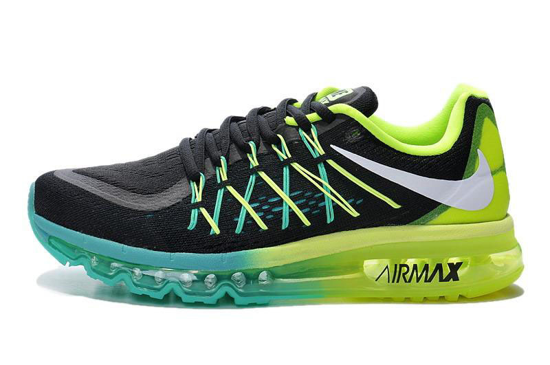Air Max 2015 Black Blue Green White