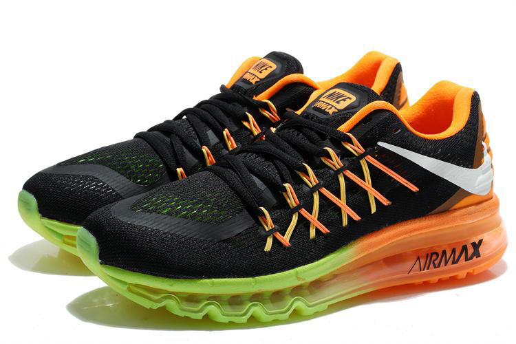 Air Max 2015 Black Orange Green