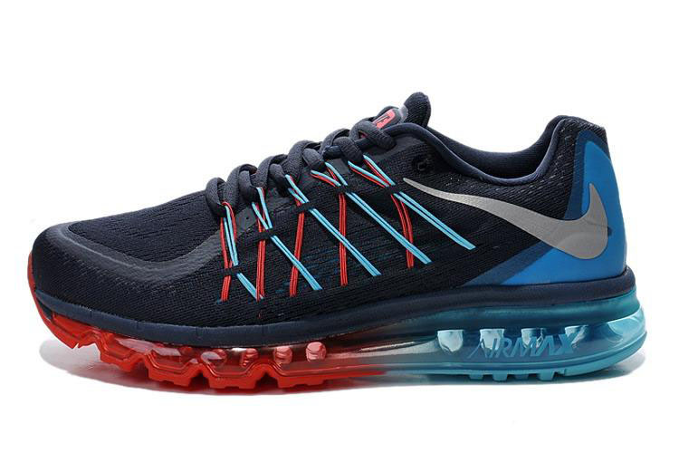 Air Max 2015 Black Red Blue