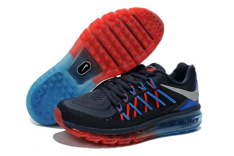 Air Max 2015 Fire Red Blue Black Grey