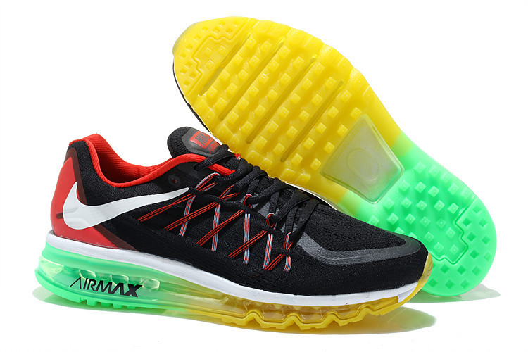 Air Max 2015 Black Red Green