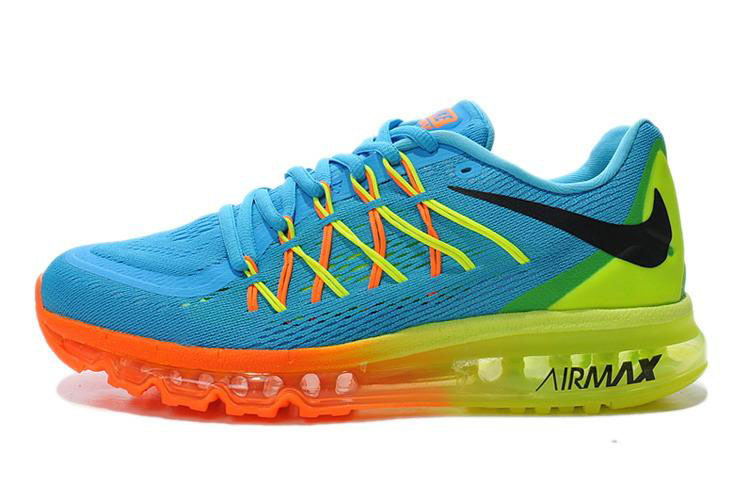 Air Max 2015 Womens Blue Orange Green Black