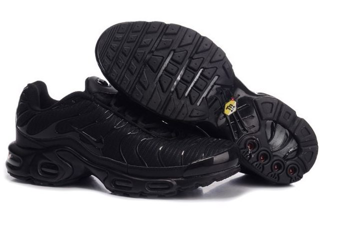 Men's Nike Air Max TN Shoes All Black
