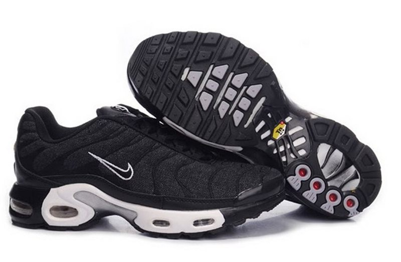 Men's Nike Air Max TN Shoes Black Grey