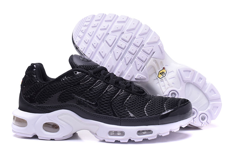 Men's Nike Air Max TN Shoes Black/White