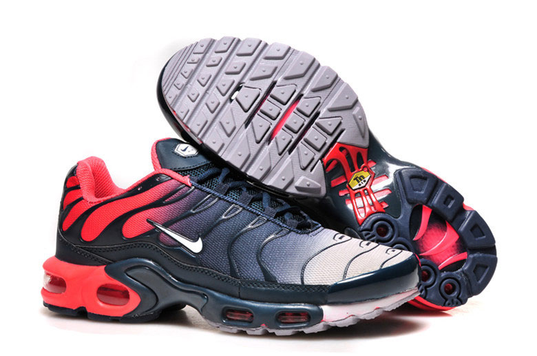 Men's Nike Air Max TN Shoes Red Navy white