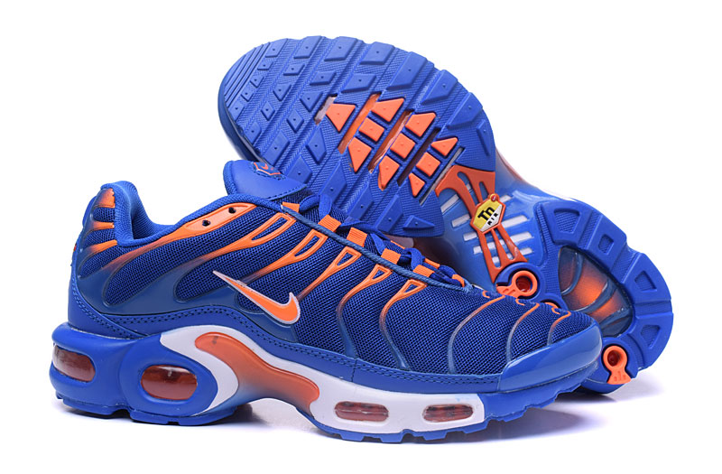Men's Nike Air Max TN Shoes Royal Blue/White/Orange