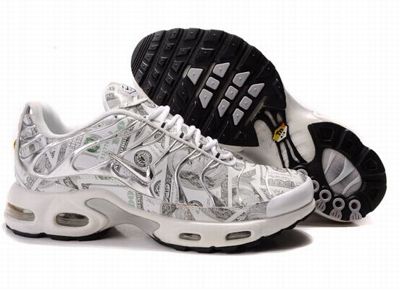 Men's Nike Air Max TN Shoes White