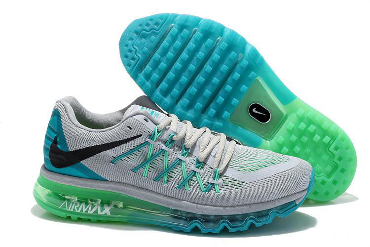 Nike Air Max 2015 Grey Blue Green Black