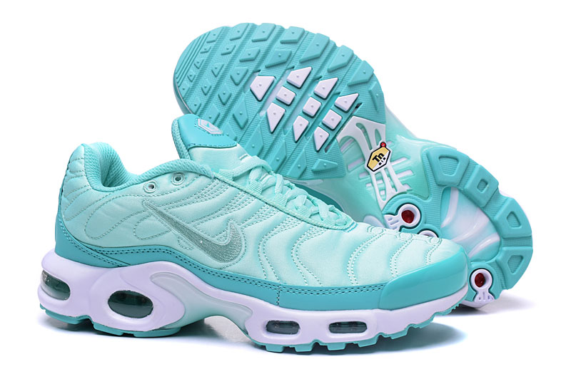 Women's Nike Air Max TN Shoes Jade/White