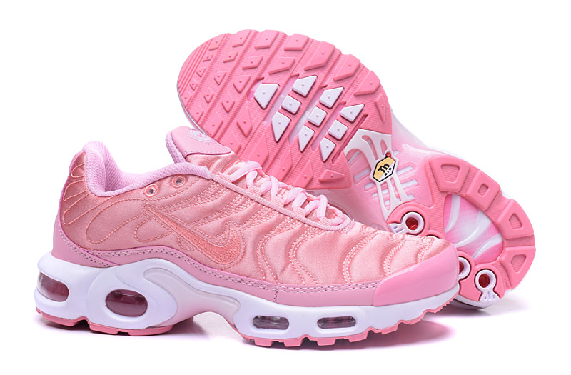 Women's Nike Air Max TN Shoes Pink/White